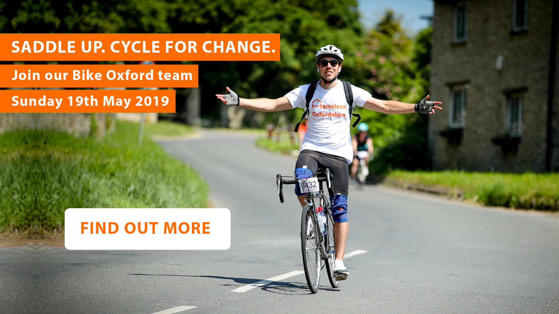 Bike Oxford pop up - Saddle up. Cycle for change. Join our Bike Oxford team. Sunday 19th May