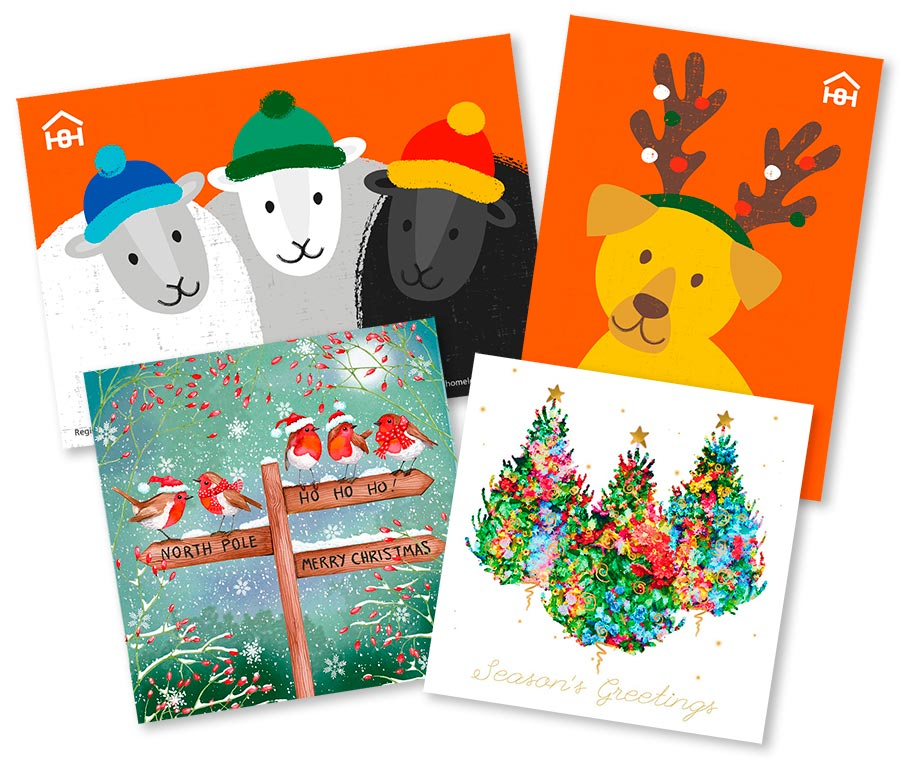 Homeless Oxfordshire_Christmas Cards_selection_FULL