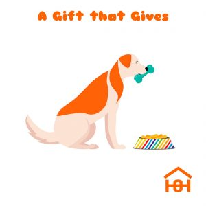 A gift that gives - Dog - Homeless Oxfordshire cards