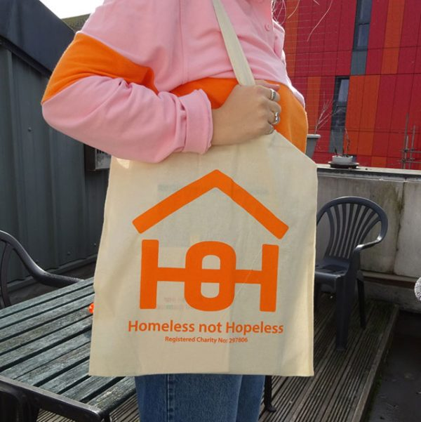 Canvas bag with Homeless Oxfordshire logo | Homeless Oxfordshire shop