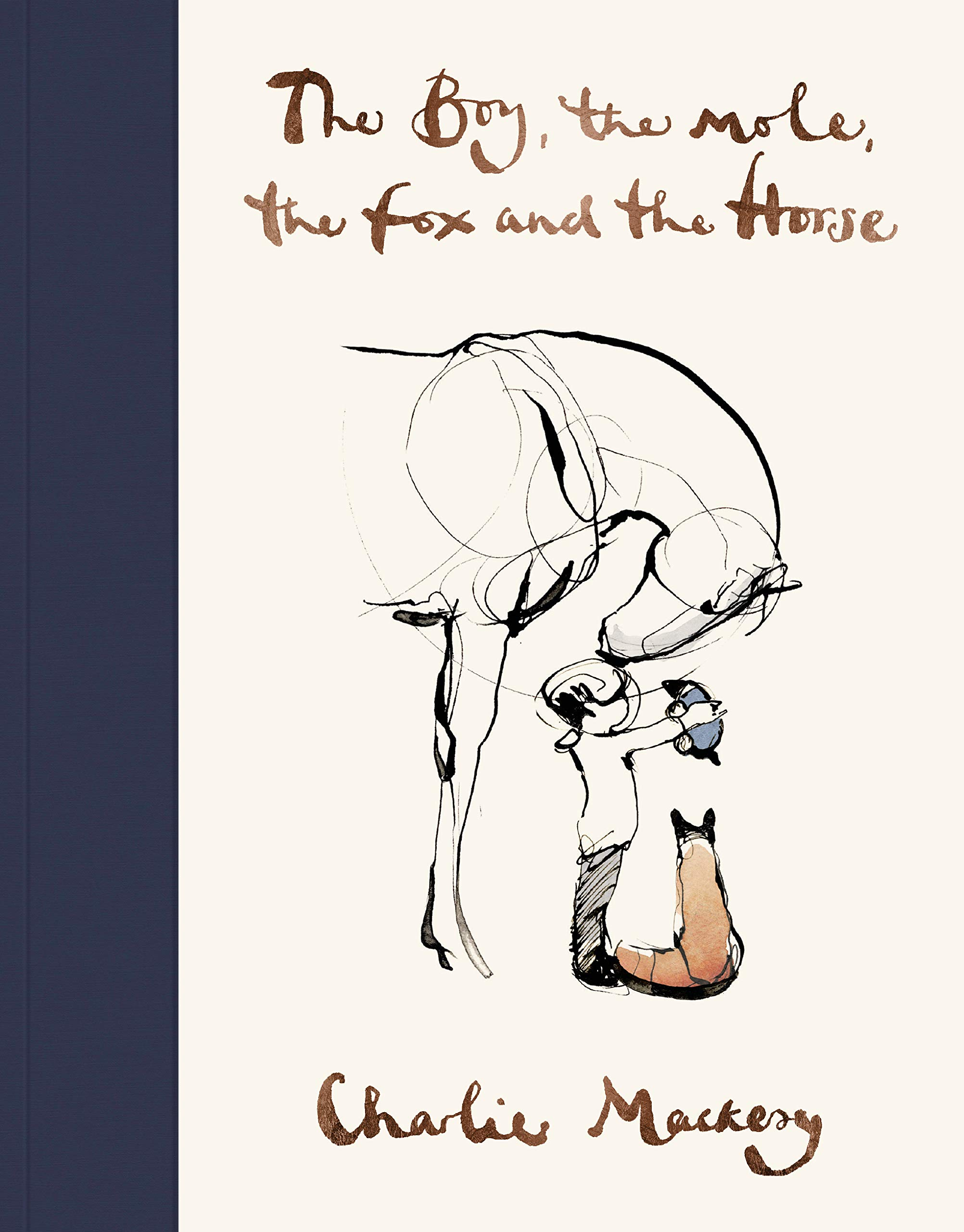Book cover of 'The Boy, the Mole, the Fox and the Horse'