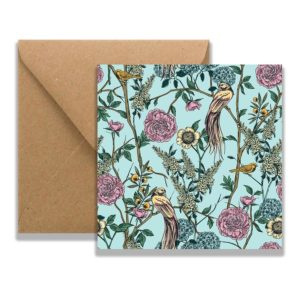 Birds Card and envelope