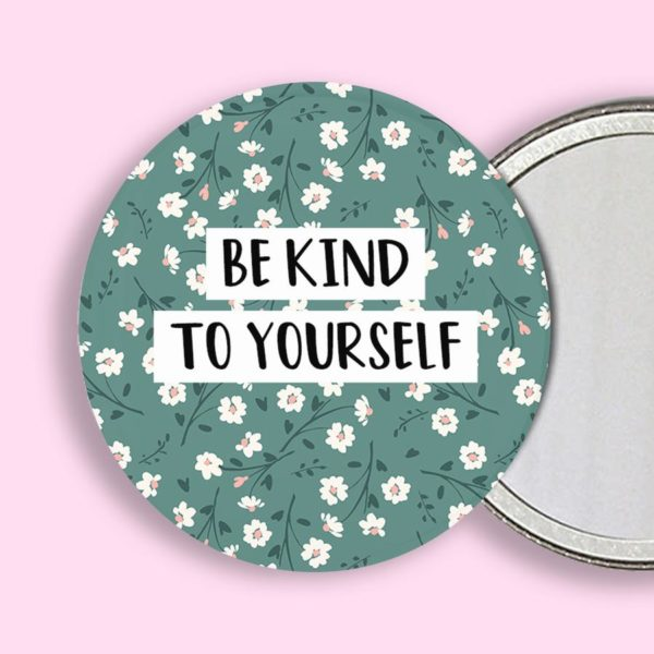 Be Kind Pocket Mirror