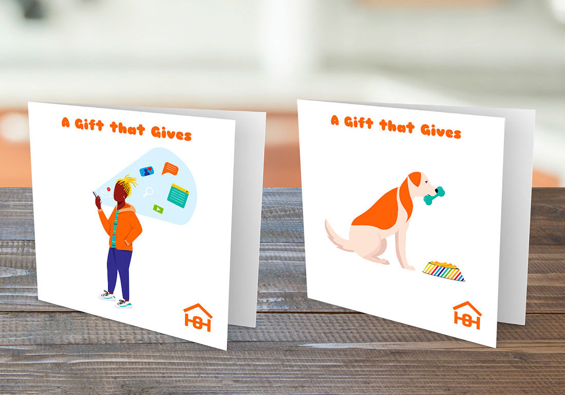 Gift that Gives Cards | Homeless Oxfordshire shop